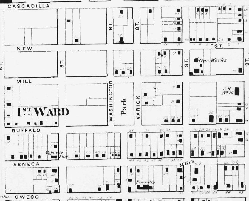 New Topographical Atlas of Tompkins County, New York Philadelphia, Stone & Stewart, 1866